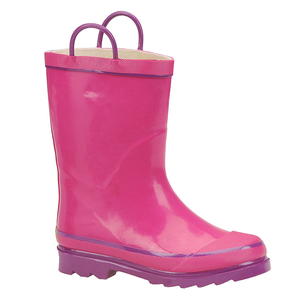 Western Chief Firechief 2 Girls' Toddler-Youth Pink Boot ...