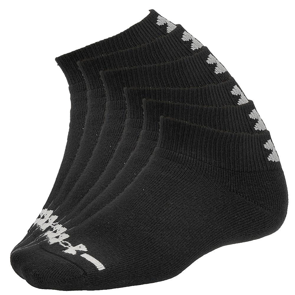 Under Armour Charged Cotton Lo Cut Socks men's Black Socks M 634859BLKMED