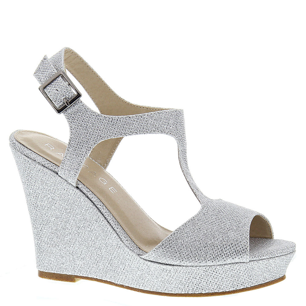 Rampage Candelas Women's Silver Sandal 7.5 M