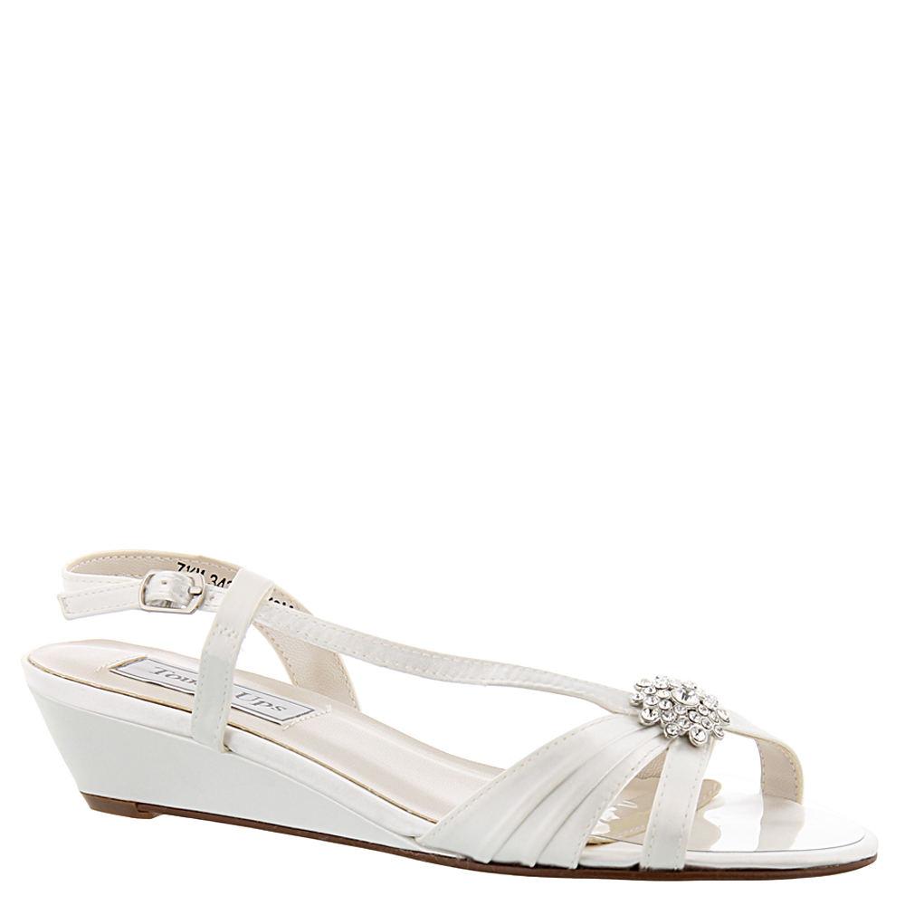 Touch Ups Geri Women's White Sandal 9.5 M