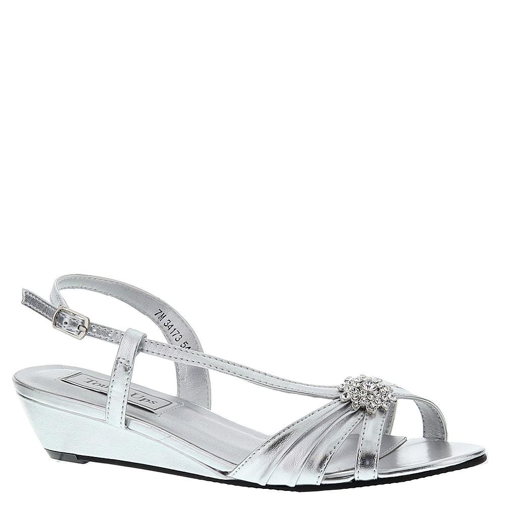 Touch Ups Geri Women's Silver Sandal 9.5 W