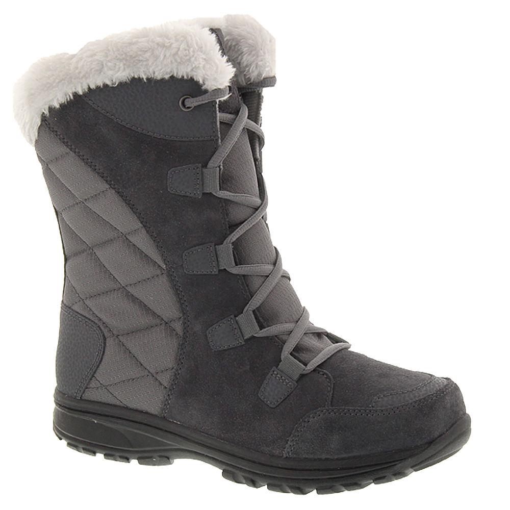 Columbia Ice Maiden II Women's Grey Boot 10.5 M