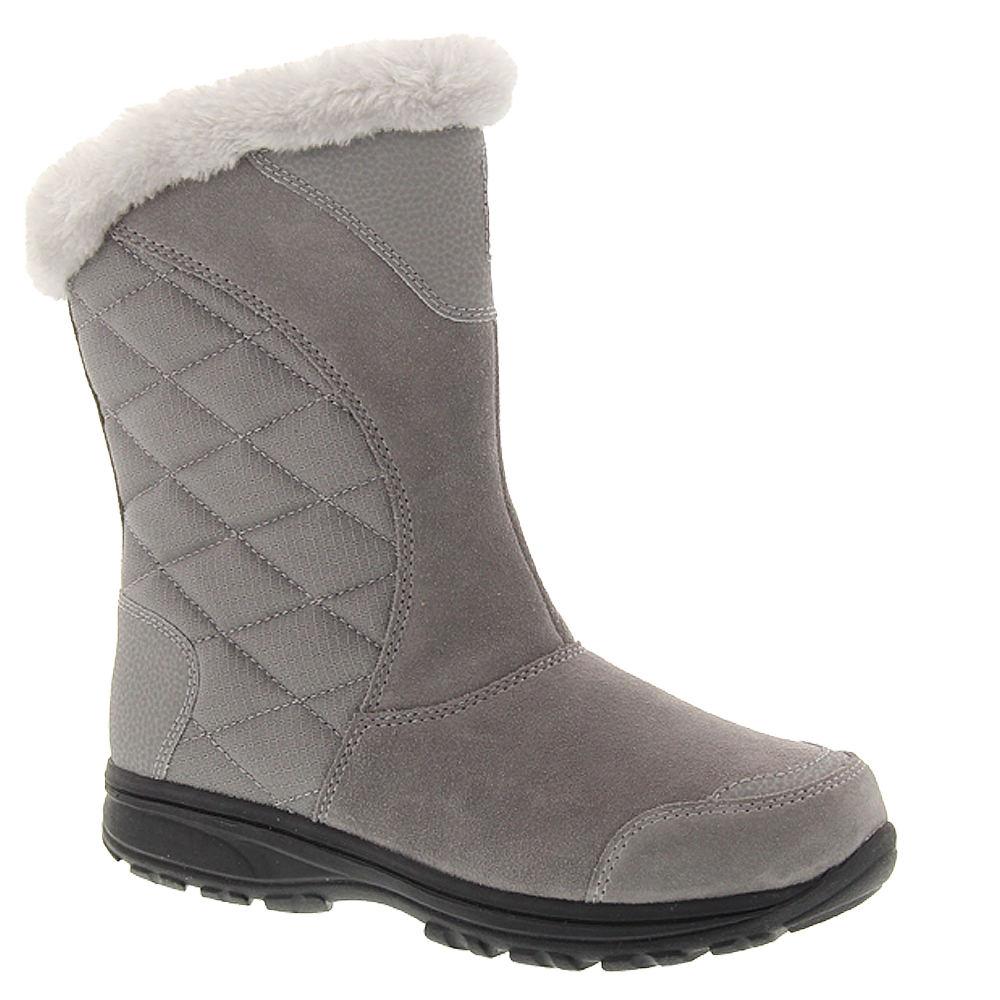 Columbia Ice Maiden II Slip Women's Grey Boot 10 M