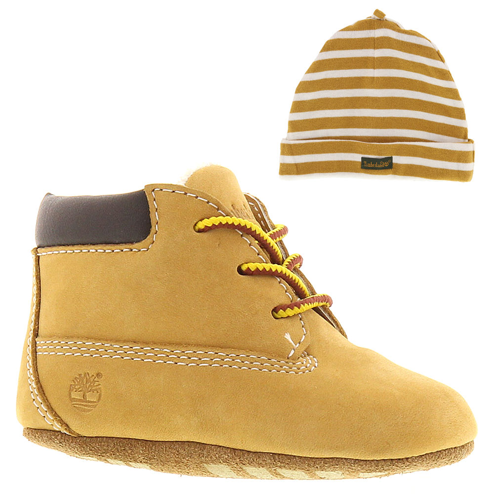 Timberland Crib  with Hat Boys' Infant Tan Boot 1 Infant M