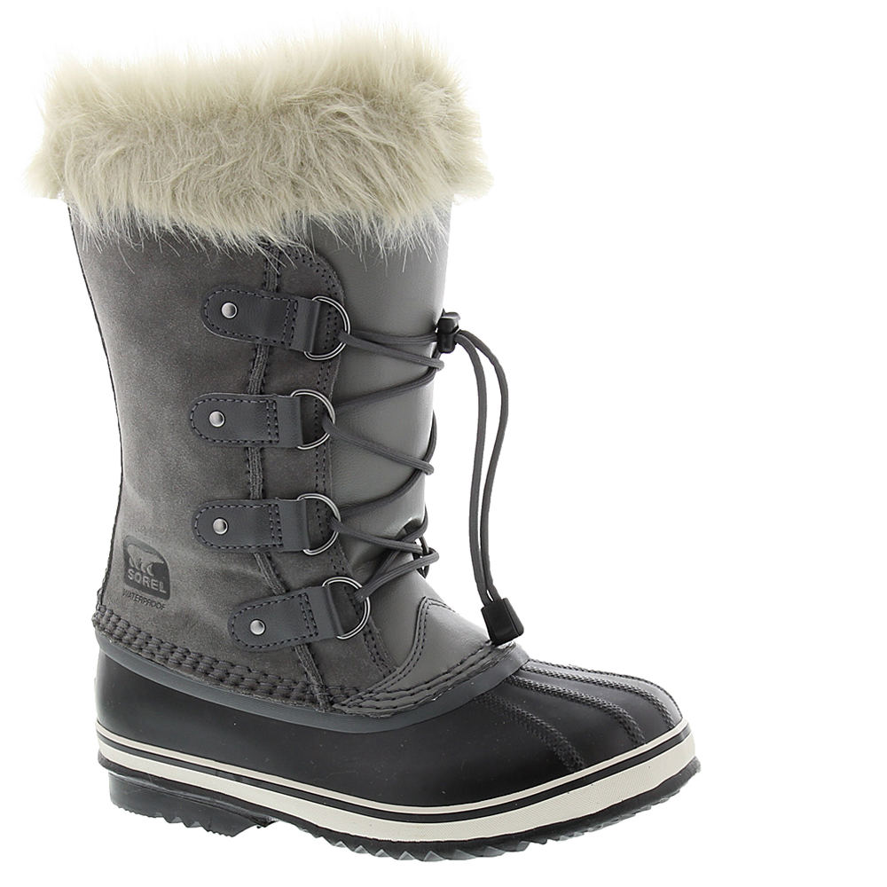 Sorel Joan Of Arctic Girls' Youth Grey Boot 2 Youth M