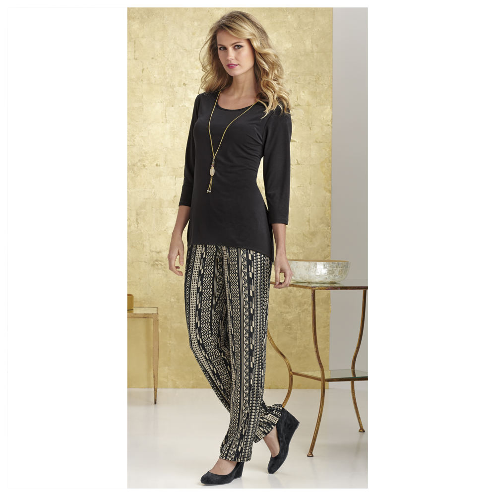Diva Pant Set Black Sets 5X