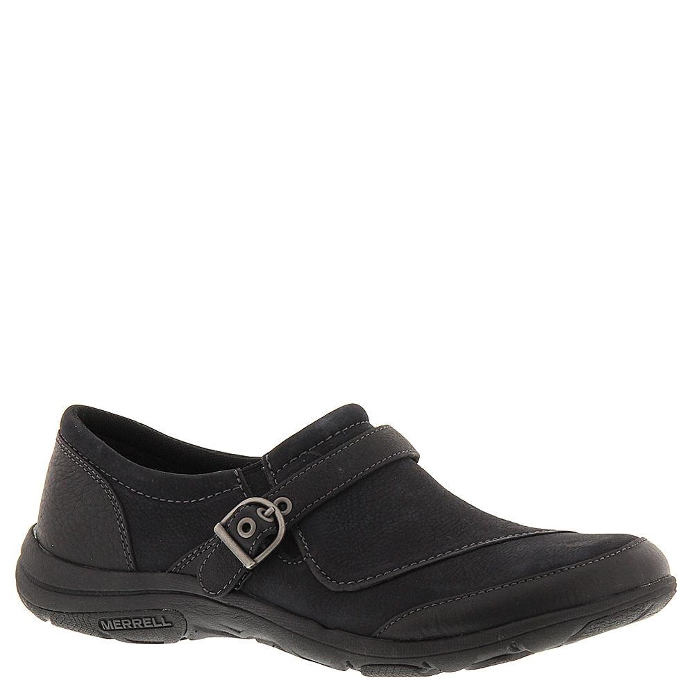 Merrell Dassie Buckle Women's Black Slip On 6 M