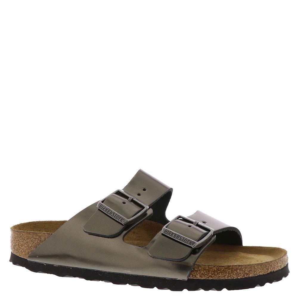 Birkenstock Arizona Soft Footbed Women's Pewter Sandal Eu...