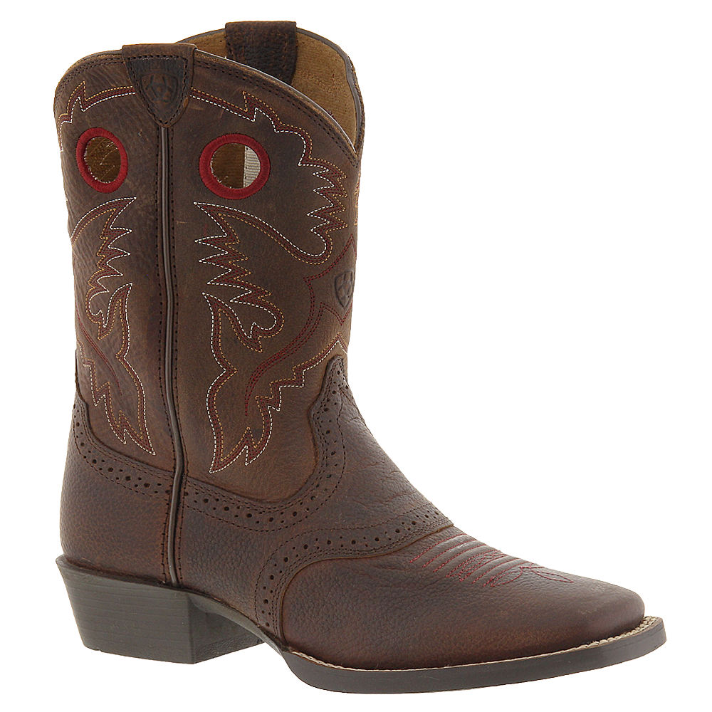 Ariat Roughstock Boys' Toddler-Youth Brown Boot 2.5 Youth M