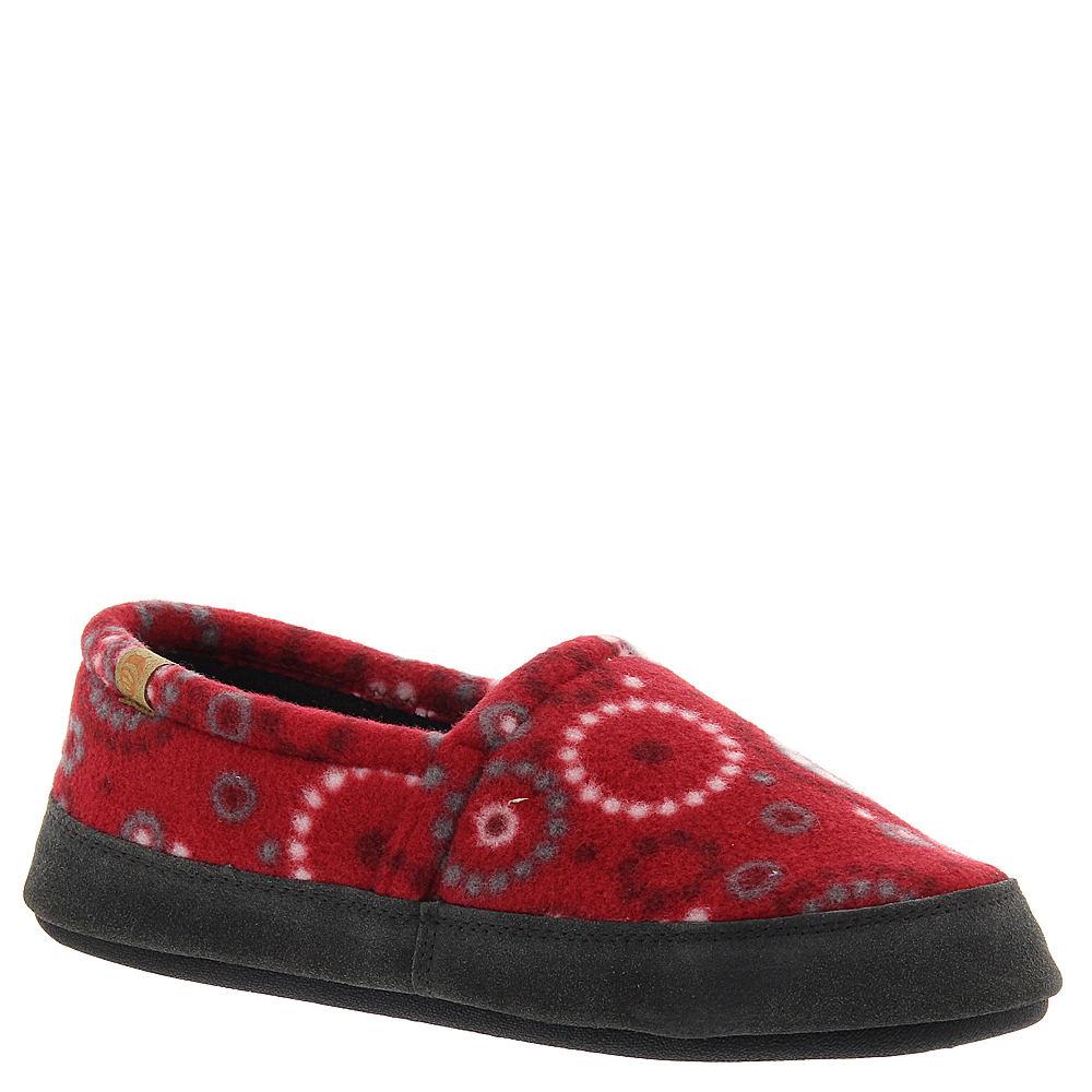 Acorn Moc Women's Red Slipper S M