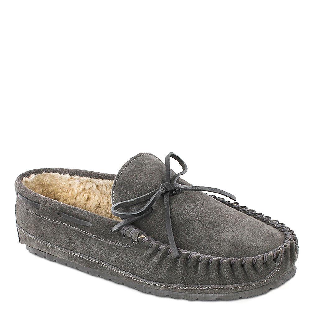 Minnetonka Casey Men's Grey Slipper 7 M