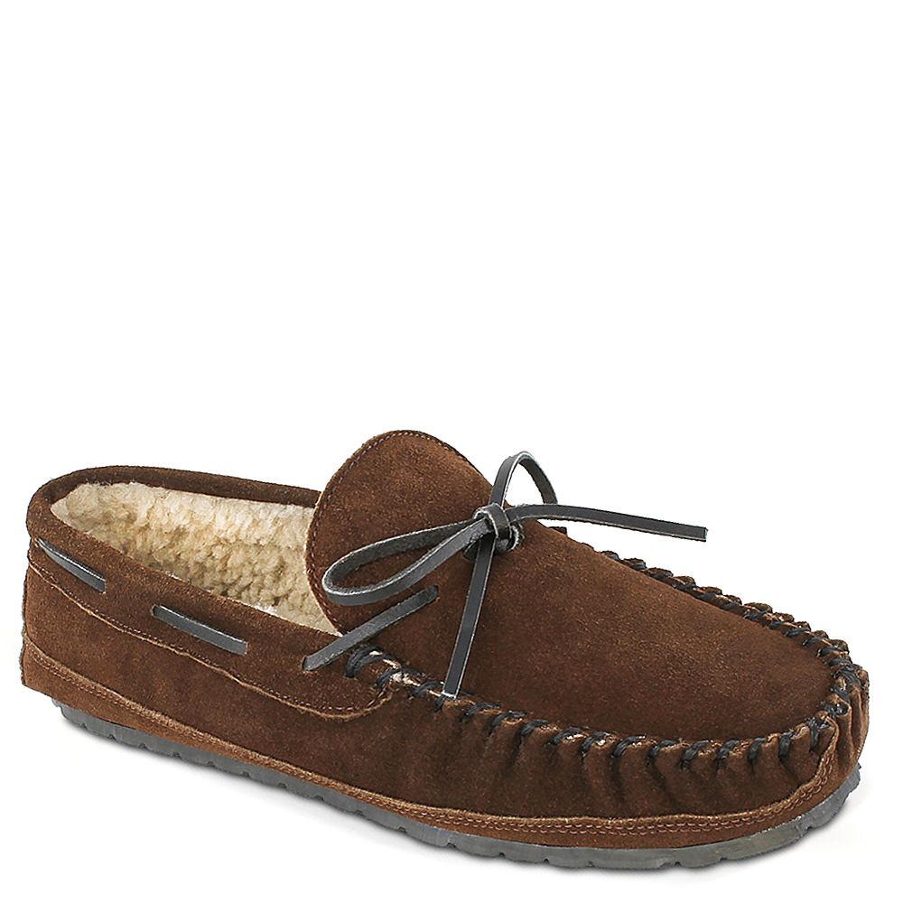 Minnetonka Casey Men's Brown Slipper 10 M