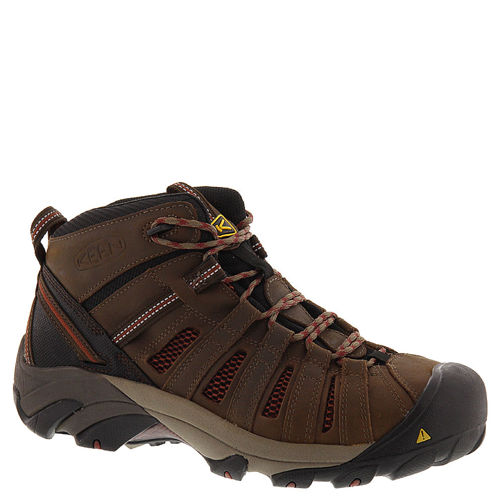 Keen Utility Flint Mid Men's Brown Boot 10 D