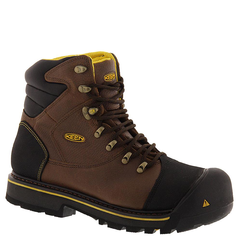 "Keen Utility Milwaukee 6"" Men's Brown Boot 8 E2"