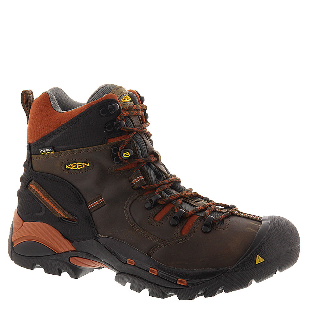 Keen Utility Pittsburgh Soft Toe Men's Brown Boot 8 D
