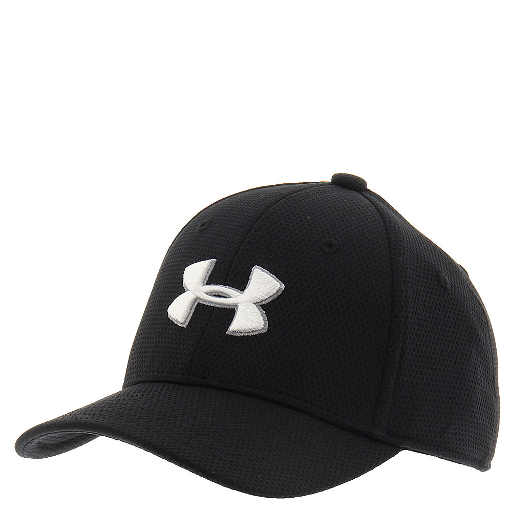 Under Armour Boys' Blitzing 2.0 Stretch Fit Cap Black Hats S/M 814964BLKS/M