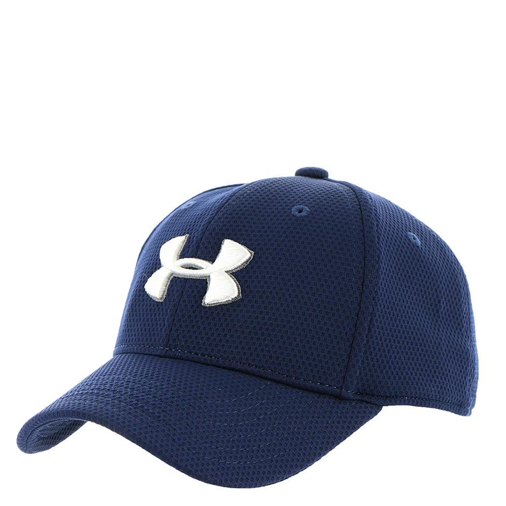 Under Armour Boys' Blitzing 2.0 Stretch Fit Cap Navy Hats S/M 824319NVYS/M