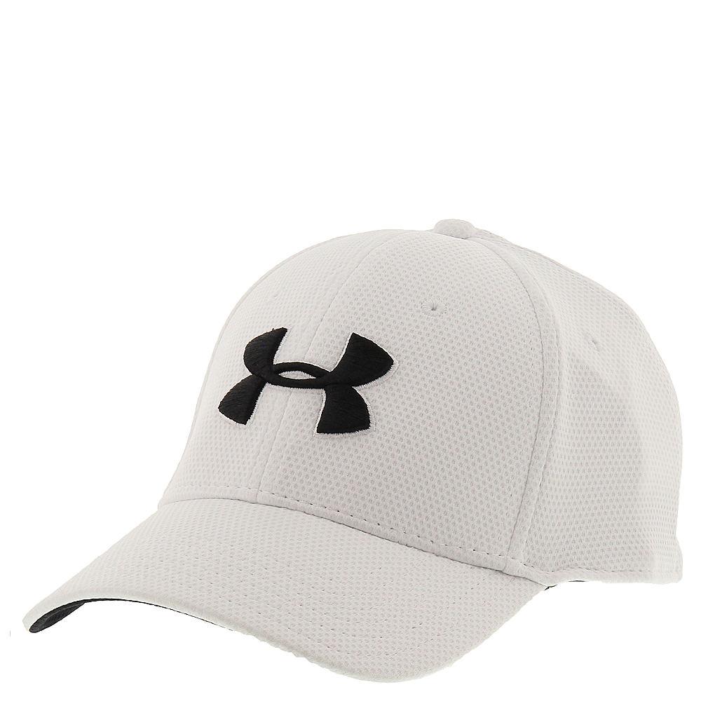 Under Armour Blitzing II Stretch Fit Cap men's White Hats M/L 636791WHTM/L