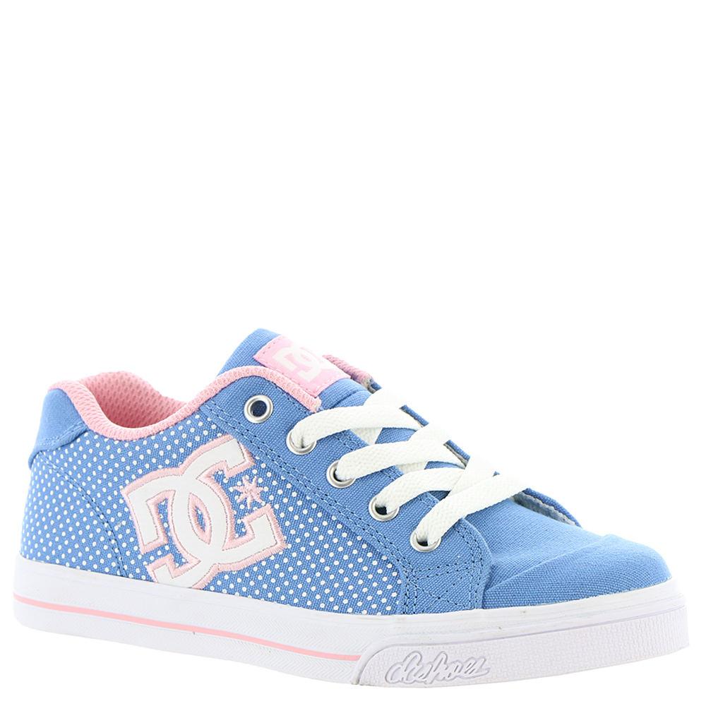 DC Chelsea TX SE Girls' Toddler-Youth Blue Skate 13.5 Tod...