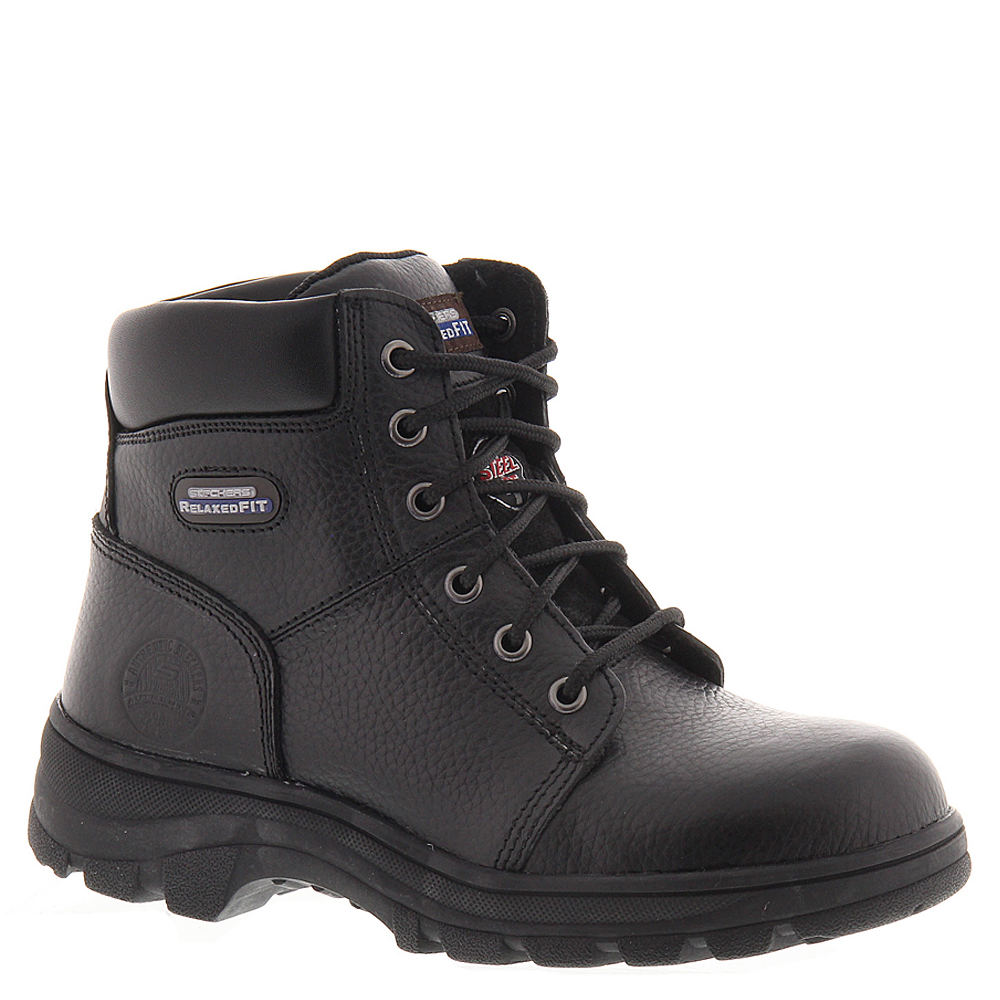 Skechers Work Workshire-Peril Women's Black Boot 9 M