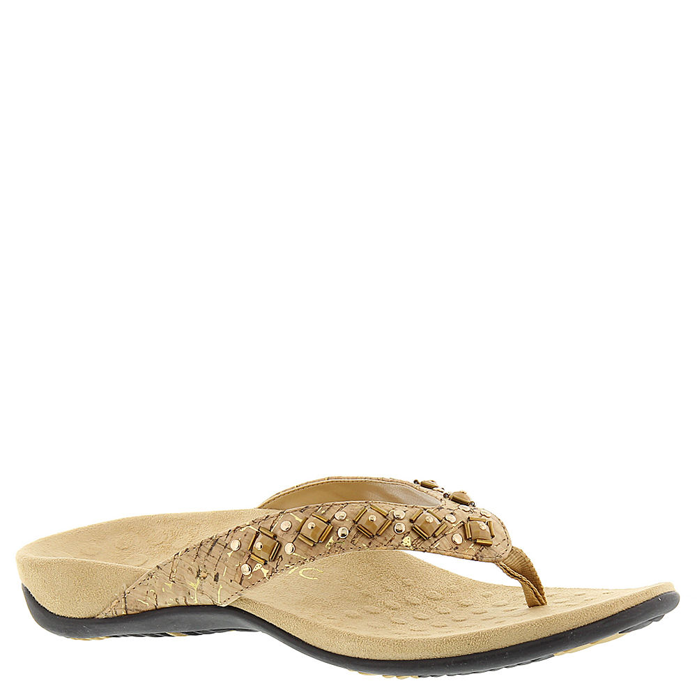 Vionic with Orthaheel Floriana Women's Gold Sandal 11 M