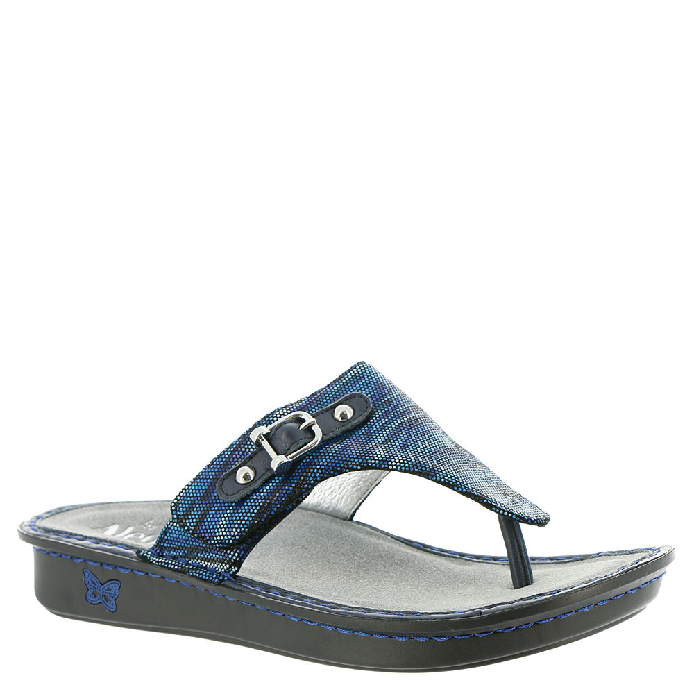 Alegria Vanessa Women's Blue Sandal Euro 39      US 9 M