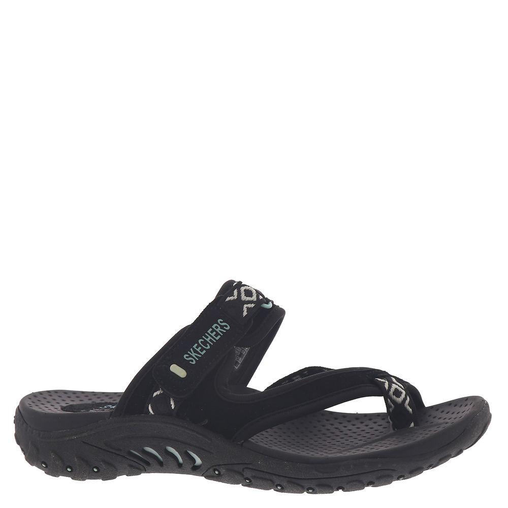 Skechers USA Reggae-40798 Women's Black Sandal 8 M