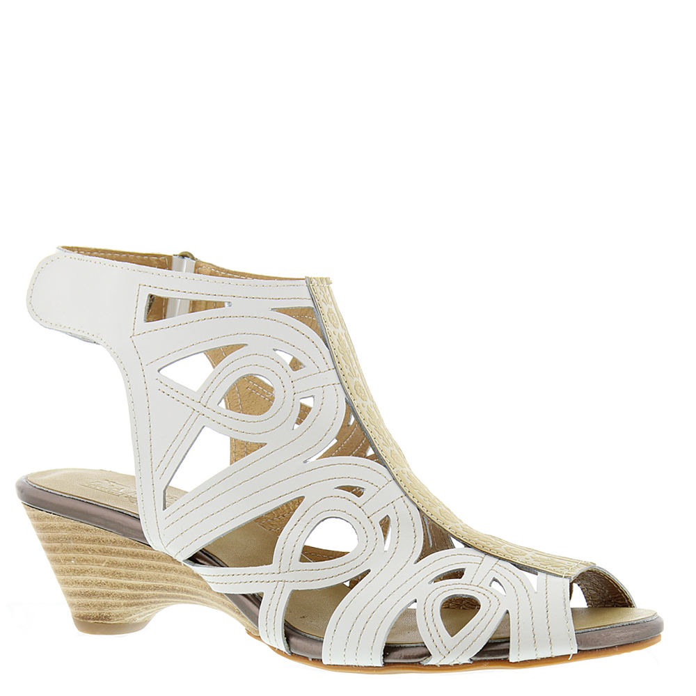 Spring Step Flourish Women's White Sandal Euro 39      US...