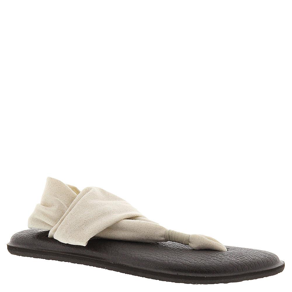Sanuk Yoga Sling 2 Metallic Women's Pink Sandal 6 M 589815RSG060M