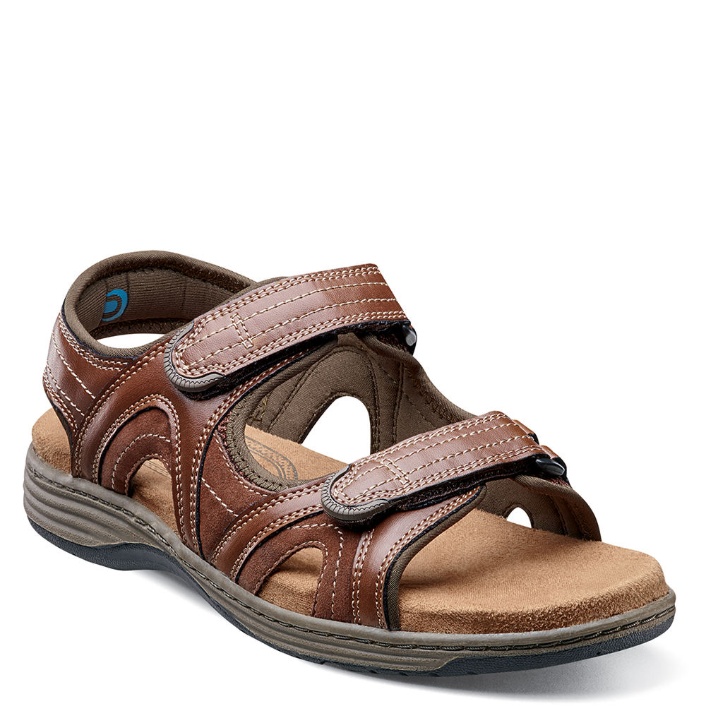 Nunn Bush Randall Men's Brown Sandal 10 M 650615COG100M