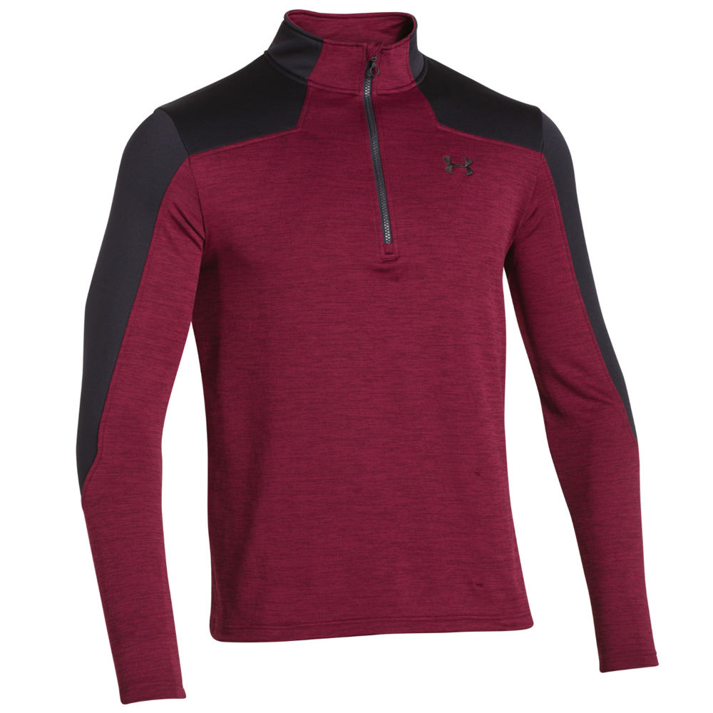 Under Armour Gamut Quarter Zip Red Knit Tops XXL 708692RED2XL