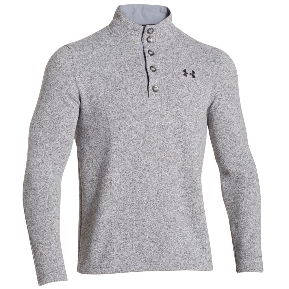 Under Armour Specialist STORM Sweater Grey Knit Tops M 708694HGRM