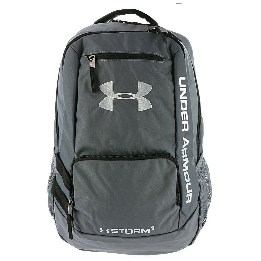 Under Armour Hustle Backpack II Grey Bags No Size 643588GRA