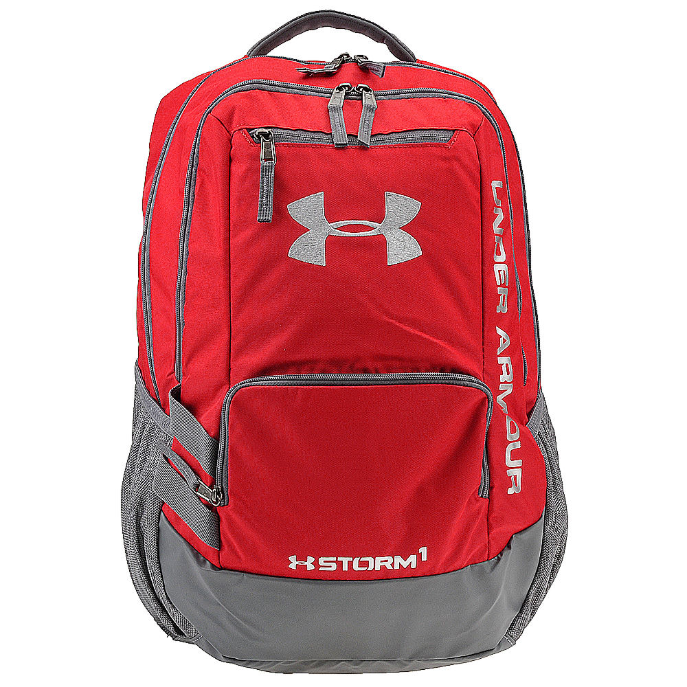 Under Armour Hustle Backpack II Red Bags No Size 638191RED