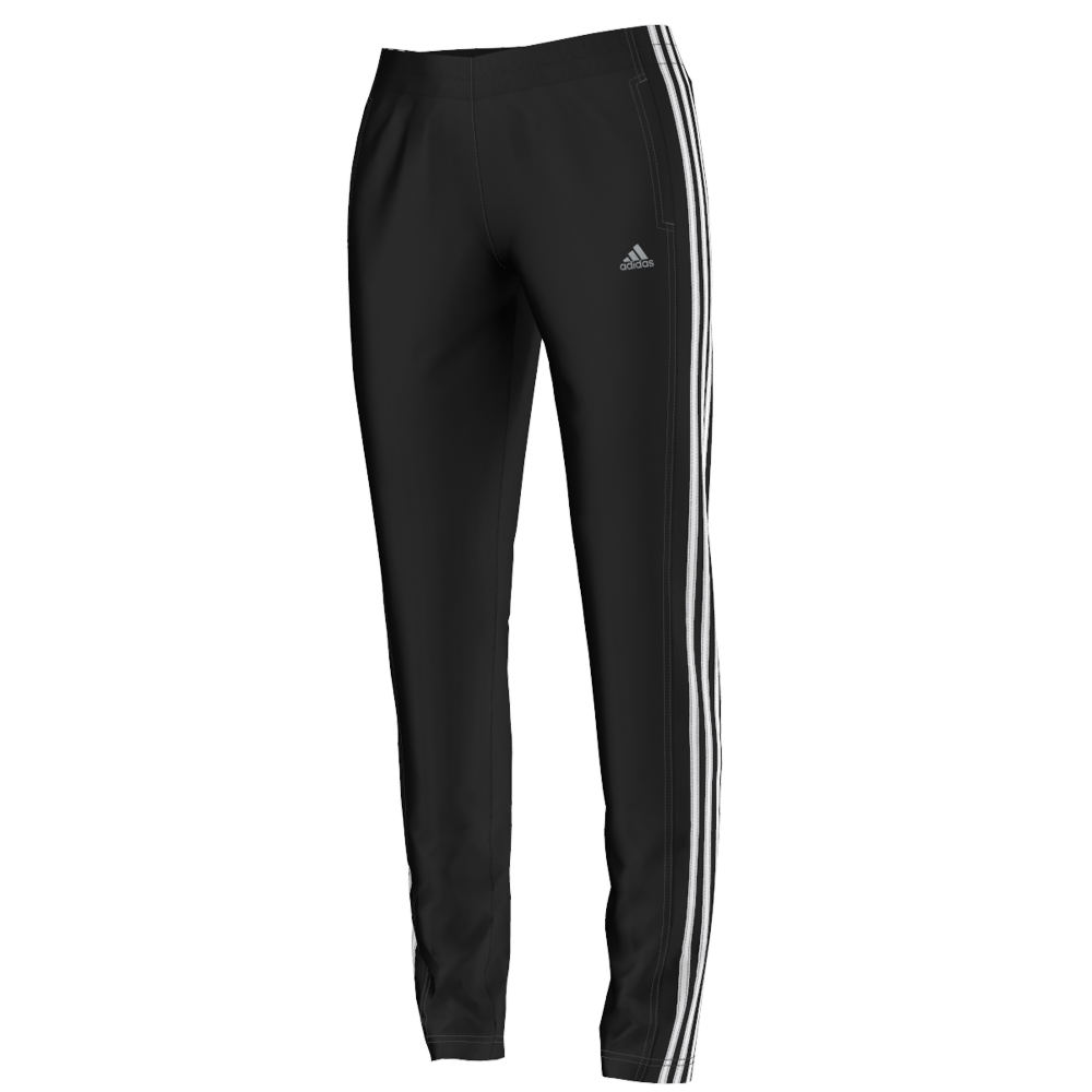 Adidas Women's Tapered Field Pant Black Pants XL-Regular