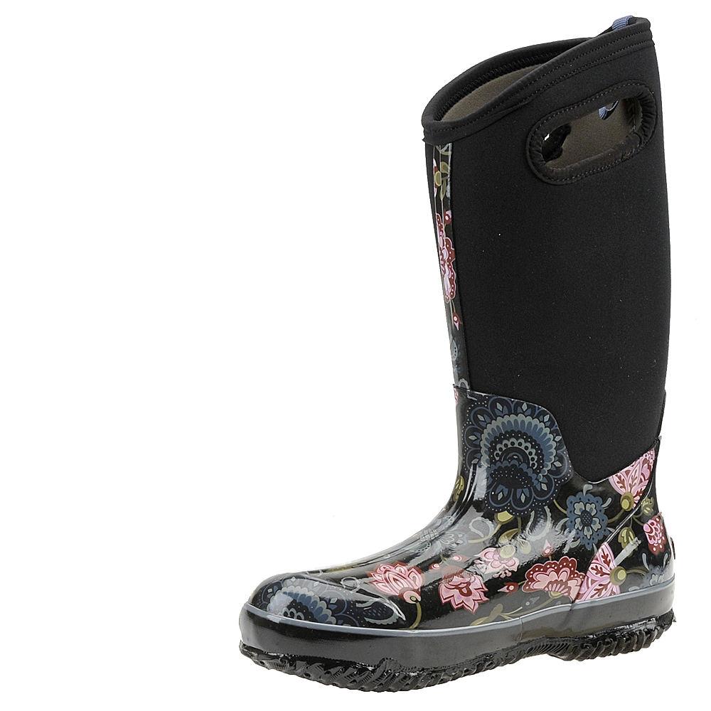 Elegant Bogs Boots Womens Sidney Cravat Lace Up Waterproof Rubber 72038