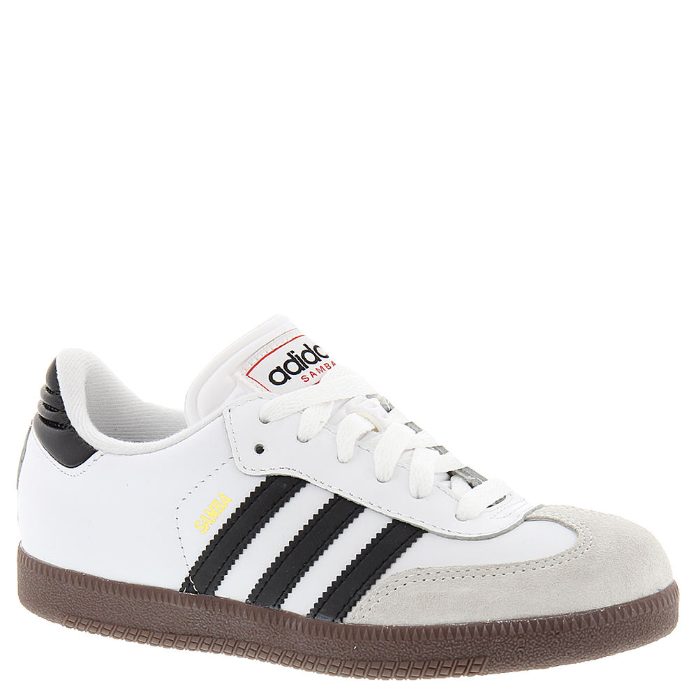 Adidas Samba Classic J Boys' Toddler-Youth White Soccer 3...