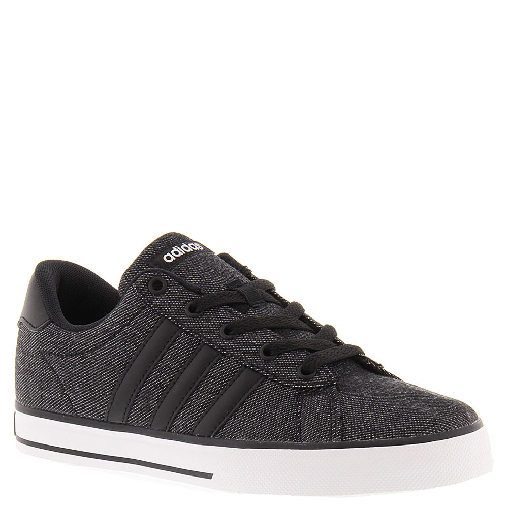 adidas SE Daily Vulc Boys' Toddler-Youth Black Oxford 1.5 Youth M 823695BLK015M