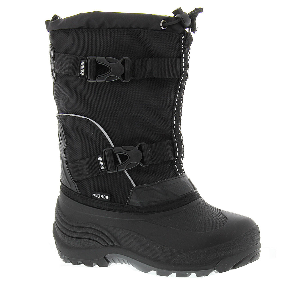 Kamik Glacial Boys' Youth Black Boot 4 Youth M