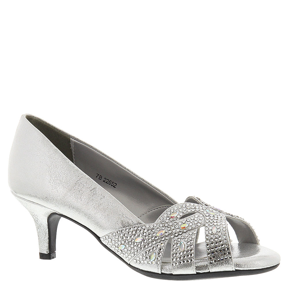 Dyeables Tracy Women's Silver Pump 9.5 M