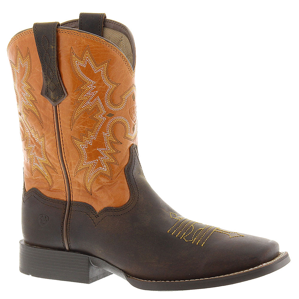 Ariat Tombstone Boys' Toddler-Youth Brown Boot 9 Toddler M