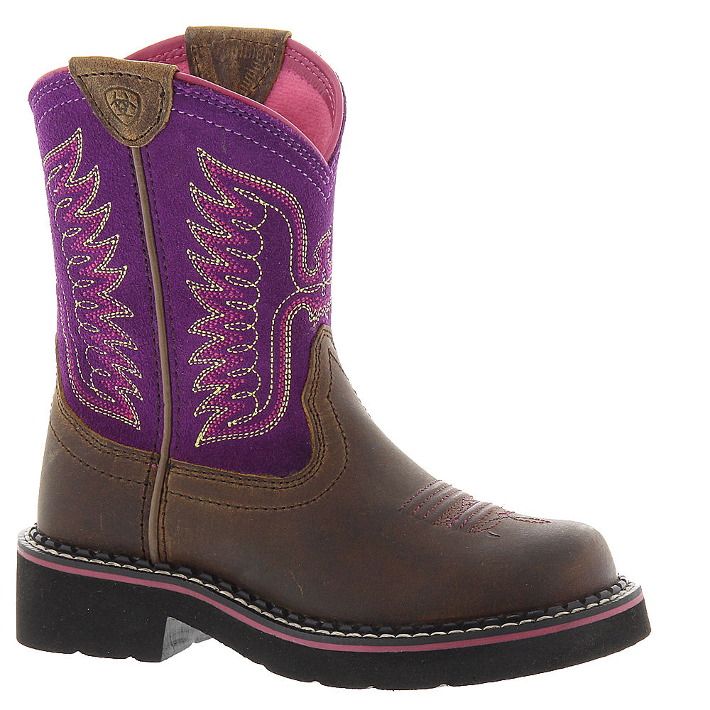 Ariat Fatbaby Thunderbird Girls' Toddler-Youth Brown Boot...