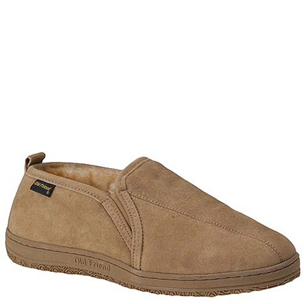 Old Friend Romeo Men's Tan Slipper 14 M