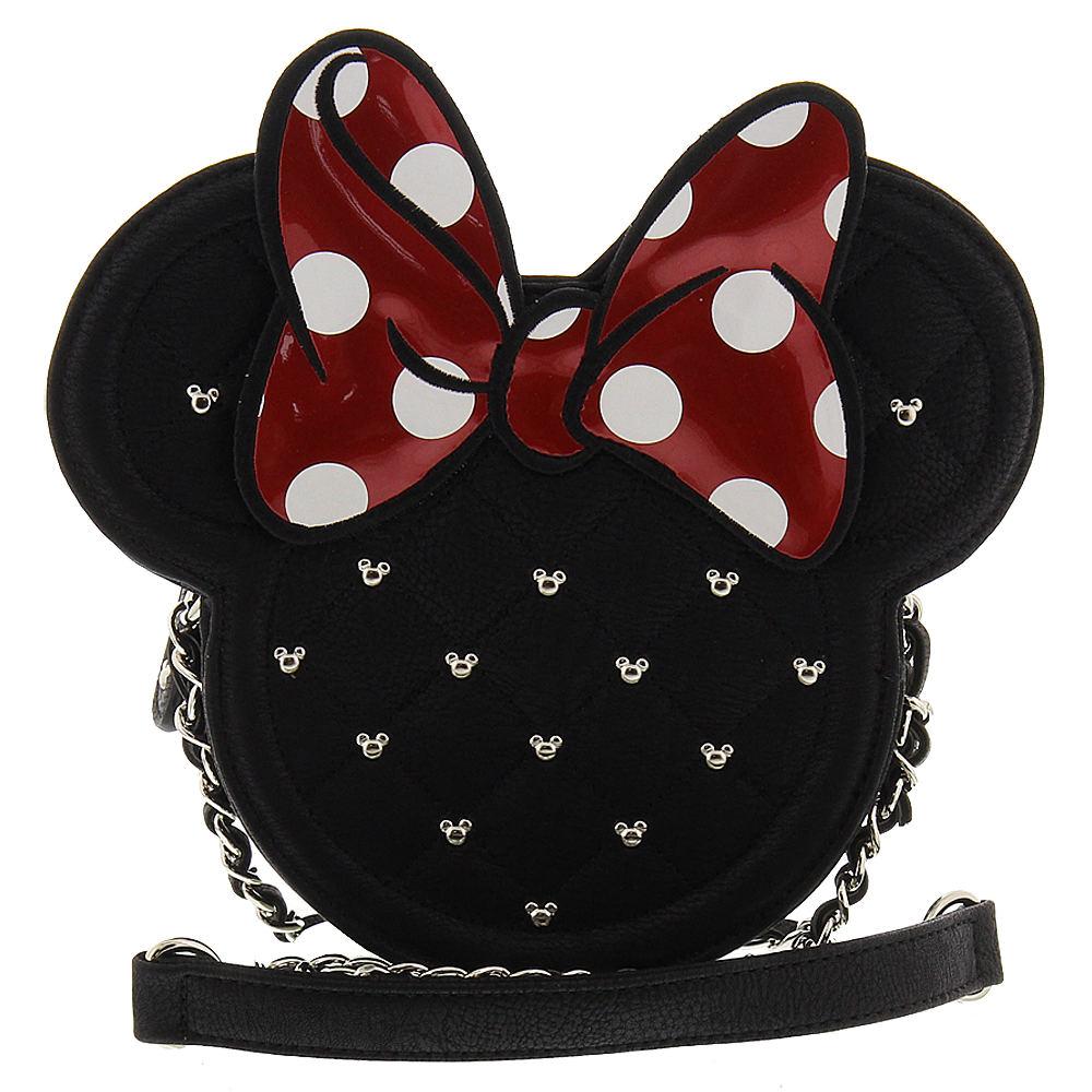 Loungefly Minnie Mouse Die Cut Crossbody Bag Black Bags N...