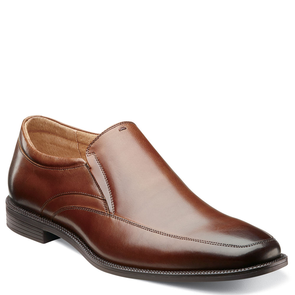 Florsheim Forum Moc Toe Slip Men's Brown Slip On 10.5 D