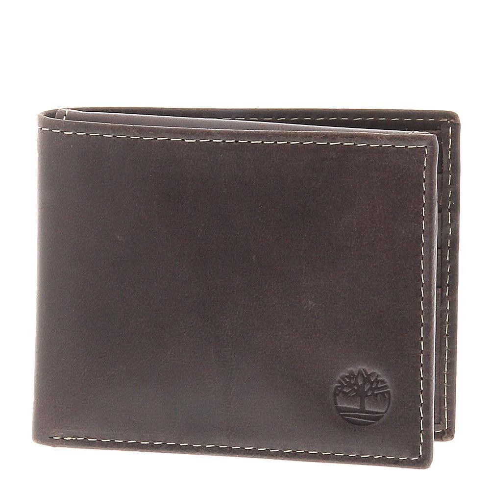 Timberland Cloudy Passcase Wallet Men's Brown Misc Access...
