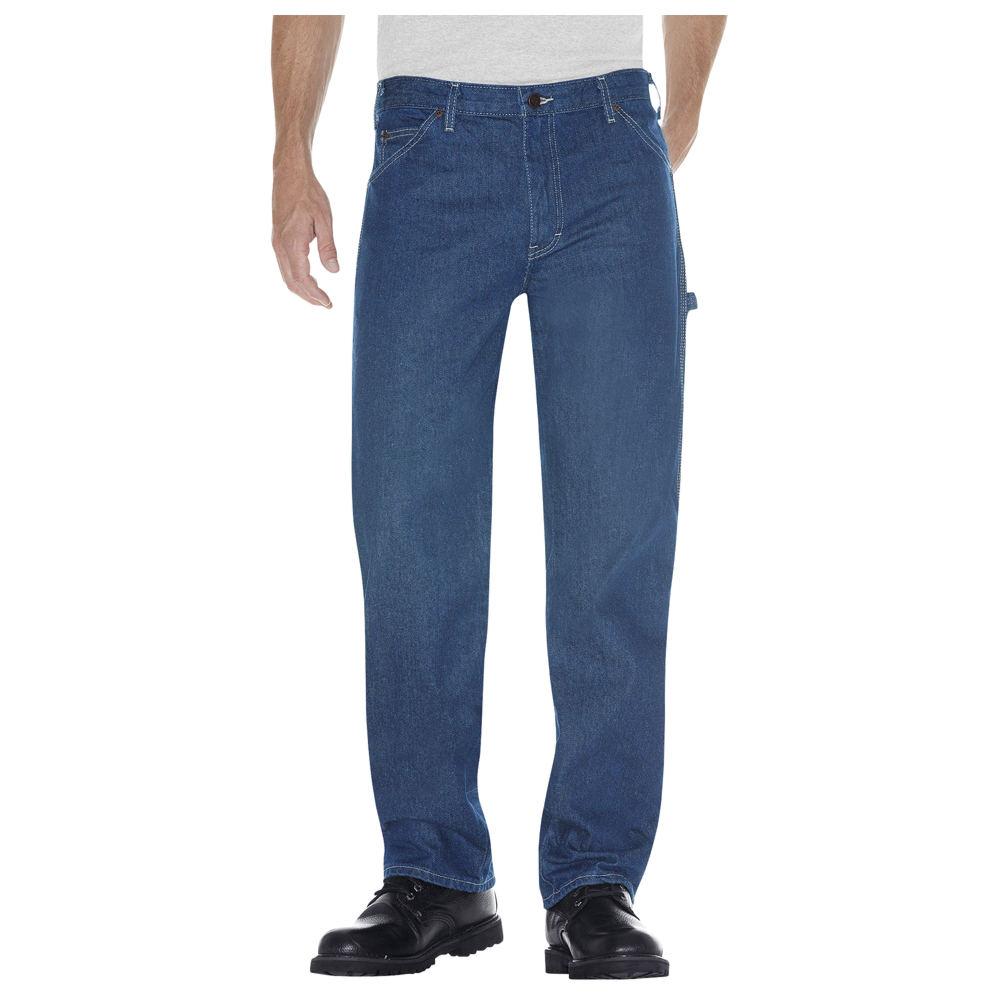 Dickies Men's Carpenter Jeans Blue Pants 32-32
