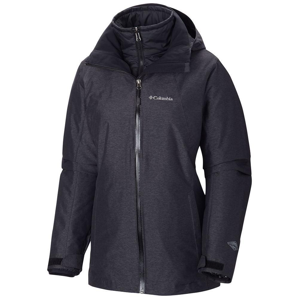 Columbia Women's Whirlibird Interchange Jacket Black Coats L