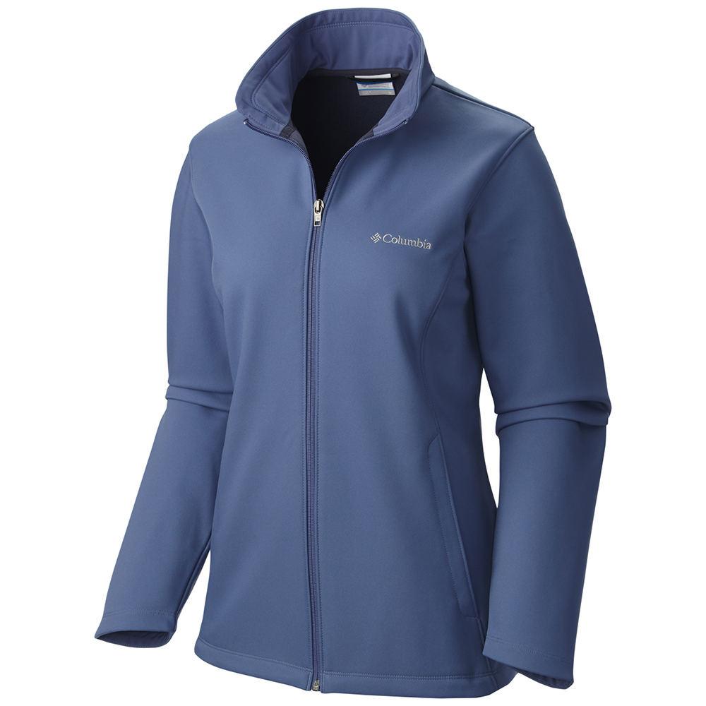 Columbia Women's Kruser Ridge Softshell Jacket Blue Jacke...