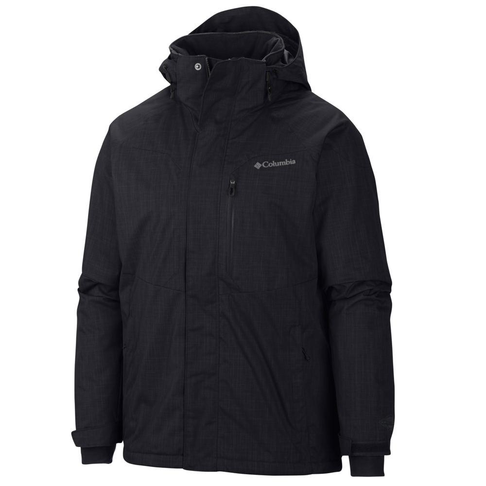Columbia Men's Alpine Action Jacket Black Jackets 3X